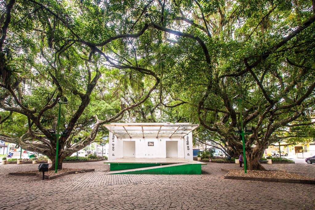 Praça das Figueiras de Camboriú