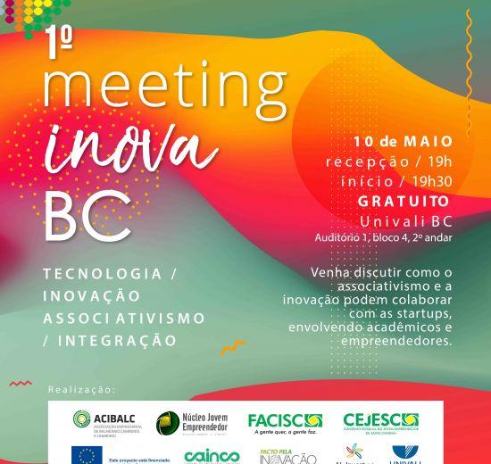 1º Meeting Inova irá discutir empreendedorismo inovador em Balneário Camboriú