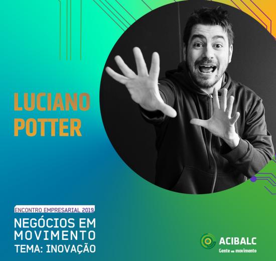 8ª edição do Encontro Empresarial da Acibalc terá a Inovação como temática e trará o jornalista Luciano Potter