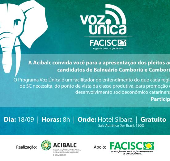 Acibalc apresenta pleitos de empresários a candidatos a Deputado Estadual e Federal nesta terça-feira