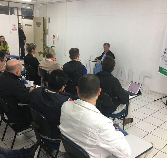 Acibalc discute temas de interesse público com novo Secretário de Planejamento de Balneário Camboriú