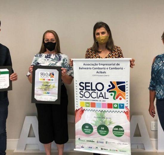 Acibalc é certificada no Selo Social por impactos na região