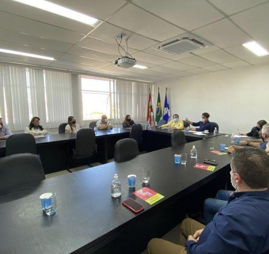 Acibalc participa de encontro com prefeito de BC em reunião do Fórum das Entidades