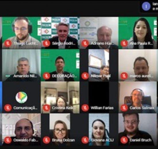 Acibalc presente em Assembleia online do Conselho Estadual dos Núcleos de Inovação
