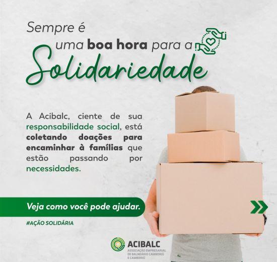 ACIBALC promove ação social em prol de famílias em situação de vulnerabilidade
