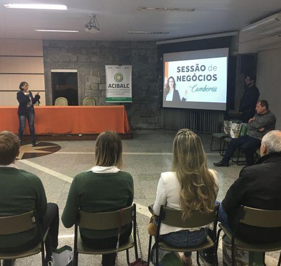 Acibalc promove sessão de negócios para empresários de Camboriú