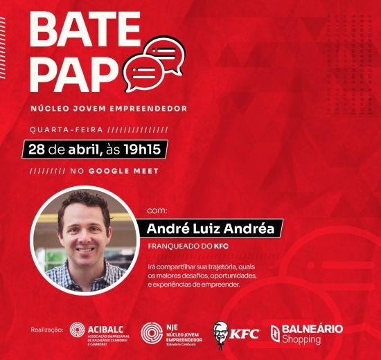 Acibalc realiza bate-papo sobre empreendedorismo jovem com franqueado do KFC