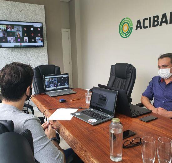 Acibalc realiza reunião plenária com dirigentes de hospitais particulares de Balneário Camboriú