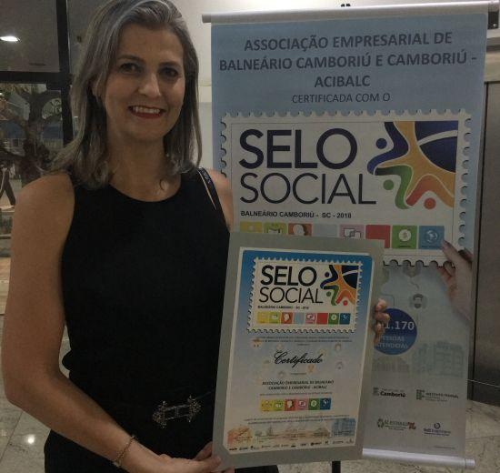 Acibalc recebe certificação do Selo Social por dez projetos desenvolvidos para Balneário Camboriú e Camboriú