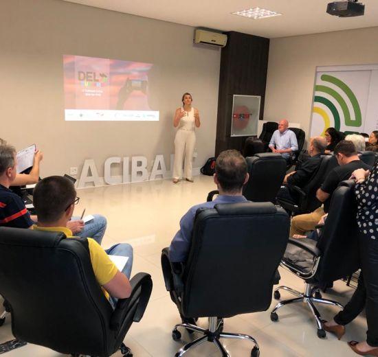 ACIBALC recebe visita de representantes de municípios de três Estados para compartilhar experiências com o DEL Turismo