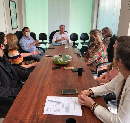 Acibalc recebe visita do Presidente da Facisc