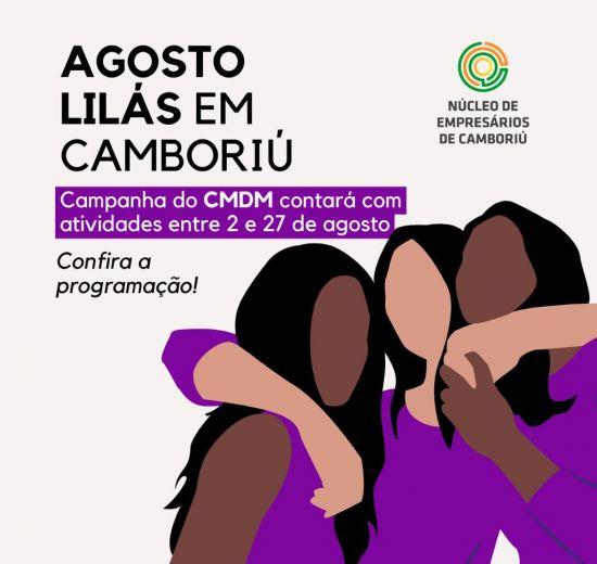 Agosto lilás, Nucam apoia ações no mês de conscientização para o fim da violência contra a mulher