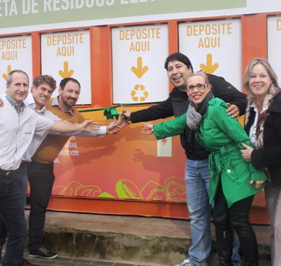 Balneário Camboriú tem o primeiro Ecoponto fixo de descarte de resíduos eletrônicos