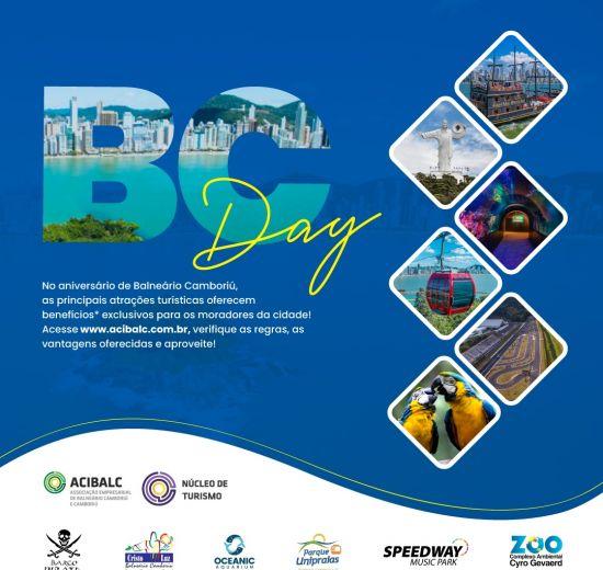 BC Day - No mês de aniversário de Balneário, atrativos turísticos oferecem descontos especiais para moradores