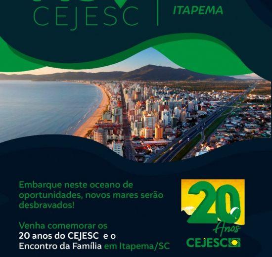 Cejesc promove evento em comemoração aos 20 anos