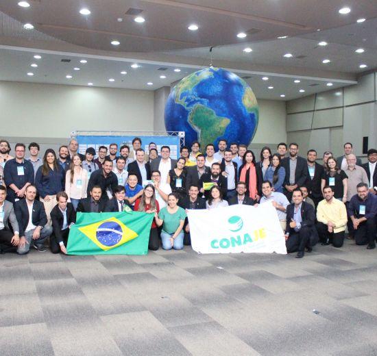 Cerca de 500 jovens empreendedores de vários países passaram pelo 23° CONAJE