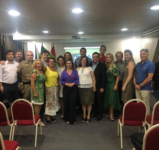 Com a presença da Secretária de Turismo do Estado, reunião do COMTUR discute prazos de abertura do Centro de Eventos de BC