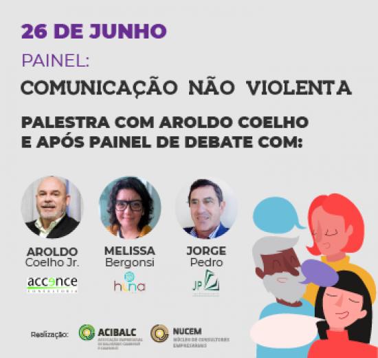 Comunicação não-violenta é tema de painel e debate em Balneário Camboriú