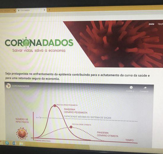 Coronadados: programa em parceria ajuda no enfrentamento do coronavírus