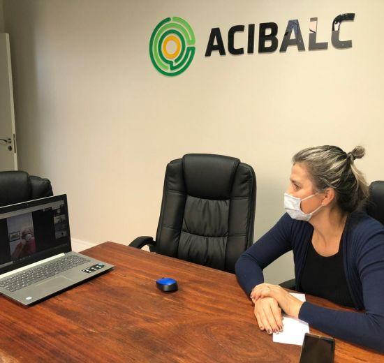 Diretoria da ACIBALC se reúne semanalmente online