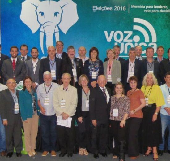 Diretoria da Facisc se reúne na Expogestão