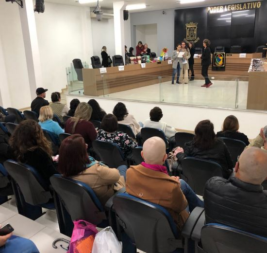 Em evento exclusivo para mulheres, Câmara de Vereadores de Camboriú trata da violência doméstica