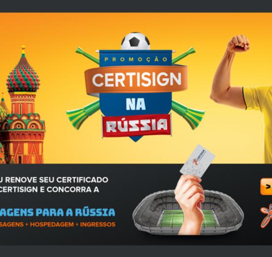 Em parceria com a Certisign, Acibalc apoia campanha de sorteios de viagens à Copa do Mundo na Rússia