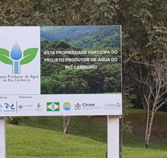 Entidades vistoriam propriedades participantes do Projeto Produtores de Água