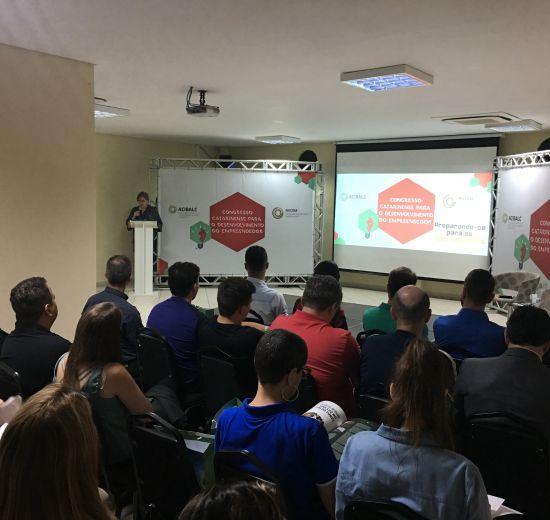 Entre painéis e palestras NUCEM comemora sucesso do Congresso Catarinense para o Desenvolvimento do Empreendedor