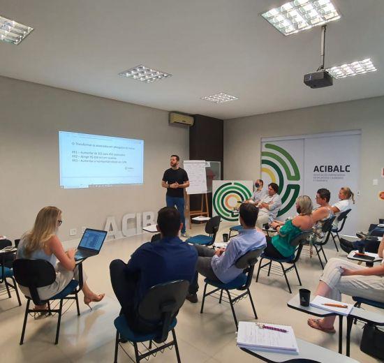 Escola de Negócios e reunião Integrada, o retorno das atividades da Acibalc