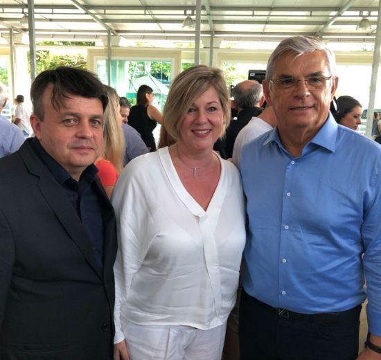 Facisc e Acibalc prestigiam entrega de licença para alargamento da praia de Balneário
