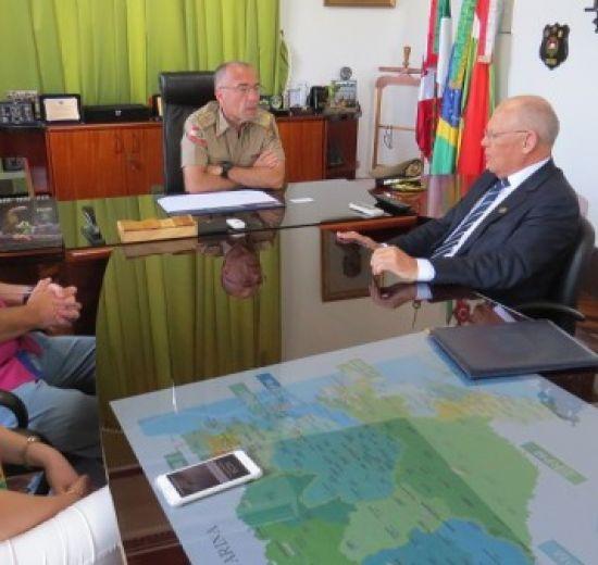 Facisc e Comando Geral da Polícia Militar se unem em prol da segurança catarinense