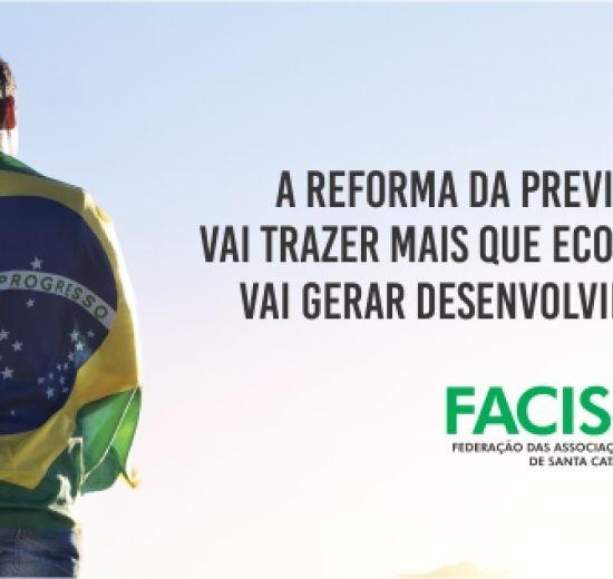 Facisc lança campanha a favor da Reforma da Previdência