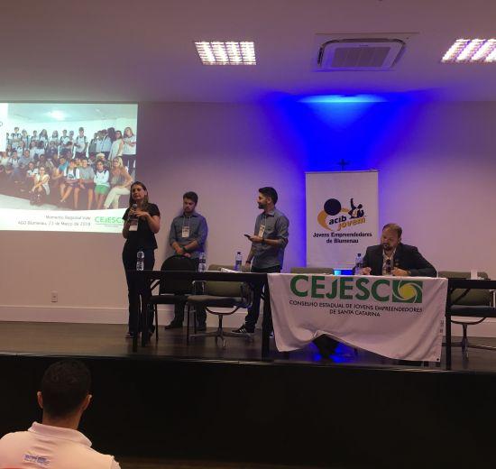 Feirão do Imposto e Projetos de Inovação marcam reunião do Conselho de Jovens Empreendedores de SC