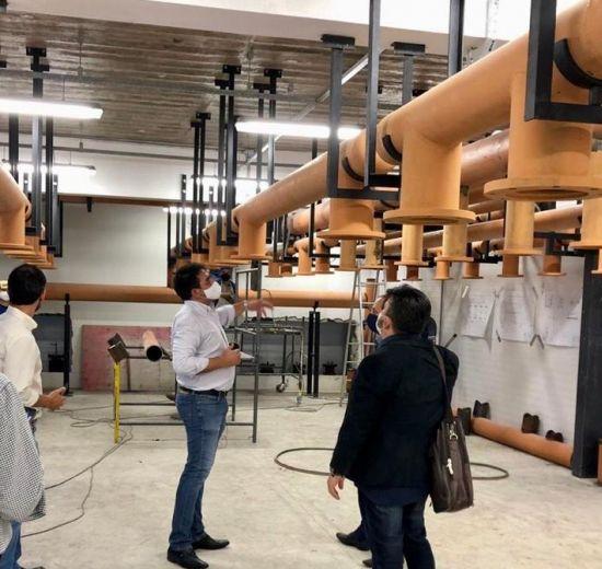 Grupo de Trabalho de Concessão realiza visita técnica e aprova andamento das obras no Centro de Eventos de Balneário Camboriú