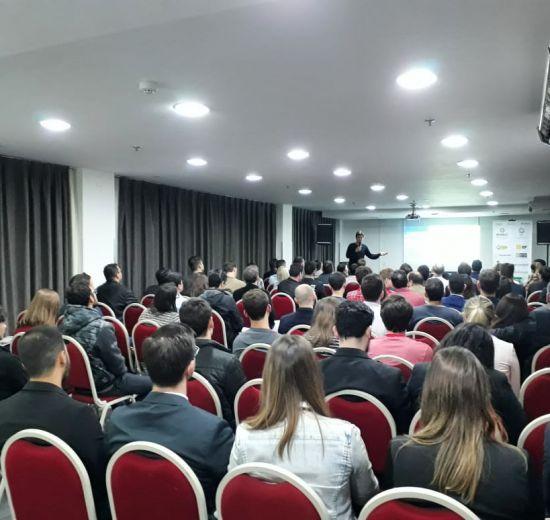 Meetup desmitifica o tema startup em evento que encerrou o Encontro Empresarial da Acibalc