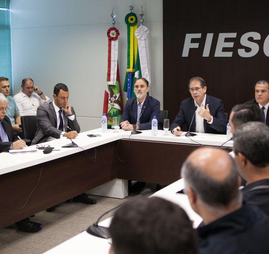 Mobilidade da BR-101 Norte: pacote de investimentos é apresentado em evento em Itajaí