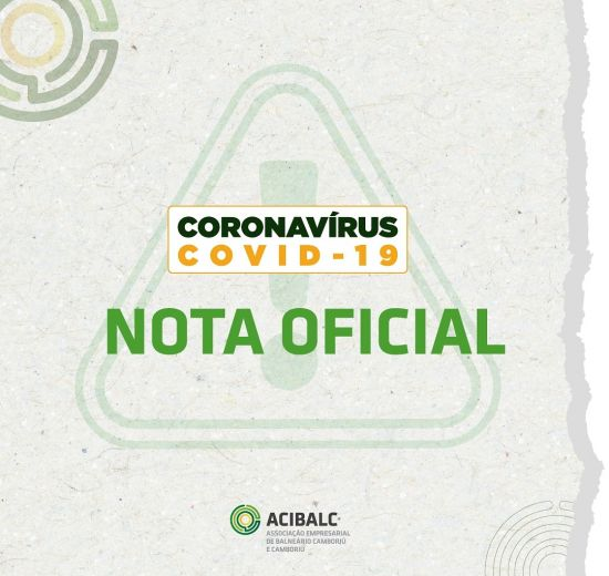 Nota Oficial - Covid 19