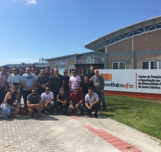 Núcleo Automotivo da Acibalc faz visita técnica à UFSC e ao Sapiens Parque
