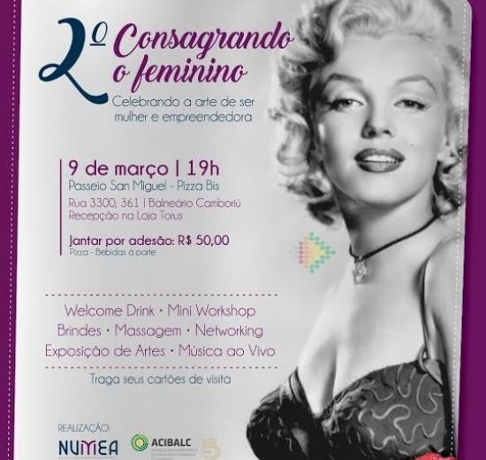 Núcleo da Mulher Empreendedora comemora Dia Internacional da Mulher com jantar, workshop e networking