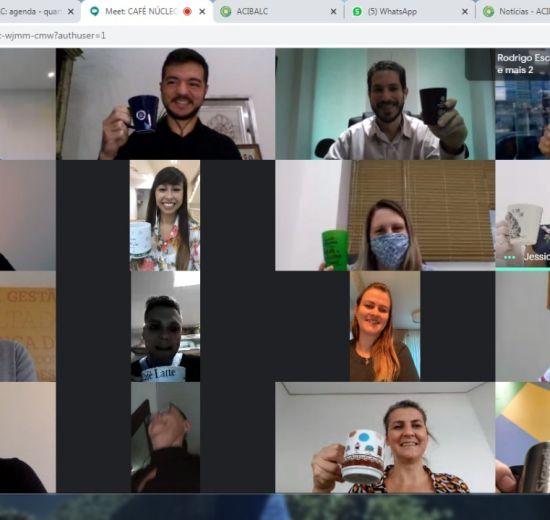 Núcleo de Cooperativas comemora o sucesso do Café para Cooperativas Online