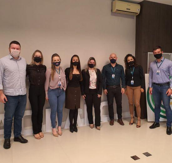 Núcleo de Cooperativas retoma reuniões presenciais na sede da Acibalc