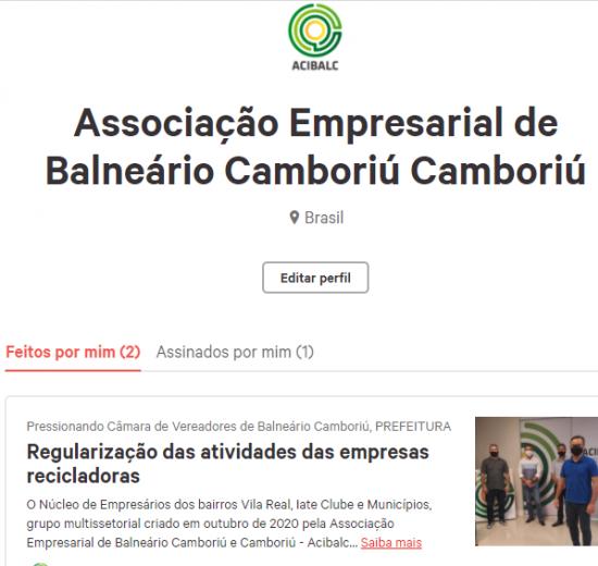Núcleo de Empresários da Vila Real, Iate Clube e Municípios cria abaixo assinado para regularizar empresas recicladoras
