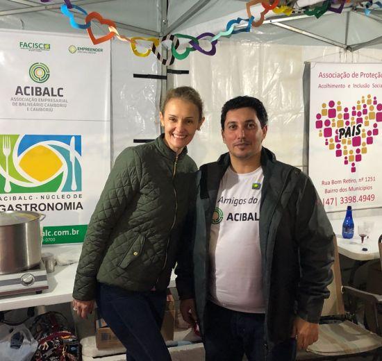 Núcleo de Gastronomia da Acibalc participa de Festa do Bom Sucesso