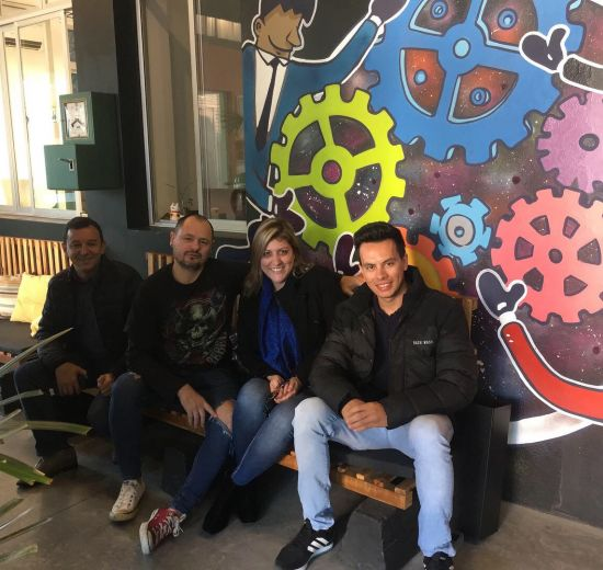 Núcleo de Tecnologia visita Blumenau