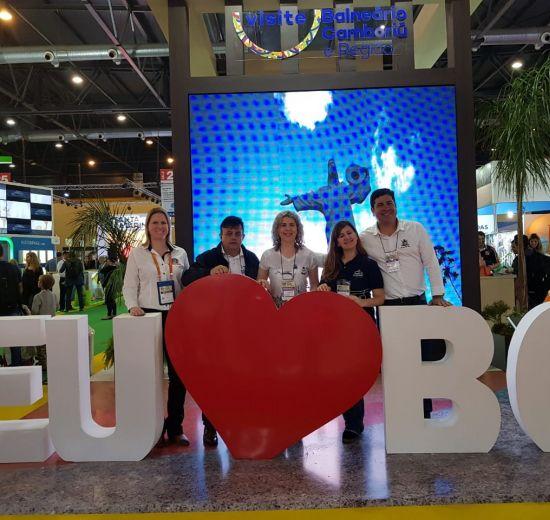 Núcleo de Turismo da Acibalc visita FIT Buenos Aires