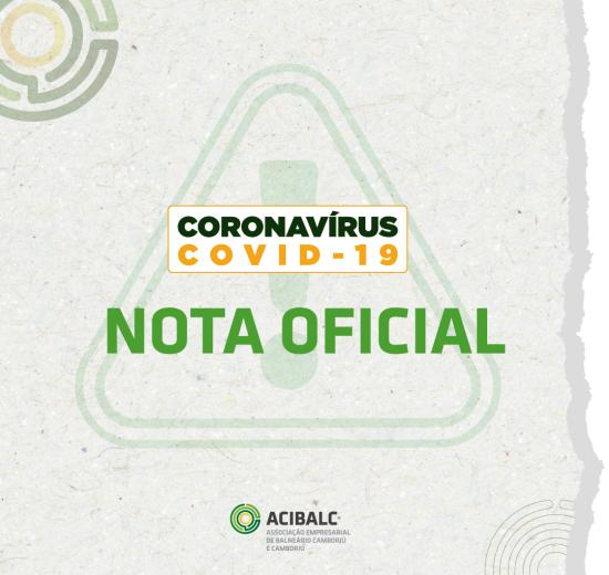 Orientações para atividades a partir de 18 de março - Coronavírus