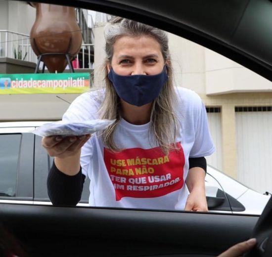 Pacto pela cidade: entidades promovem conscientização para uso de máscara