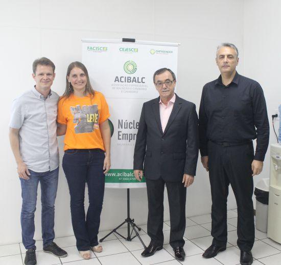 Palestra do Núcleo Jovem da Acibalc destaca a aplicação de recursos públicos em Balneário Camboriú