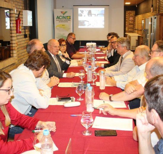Panorama da representação política no Estado e pleitos do Voz Única são temas de plenária da Facisc no Vale